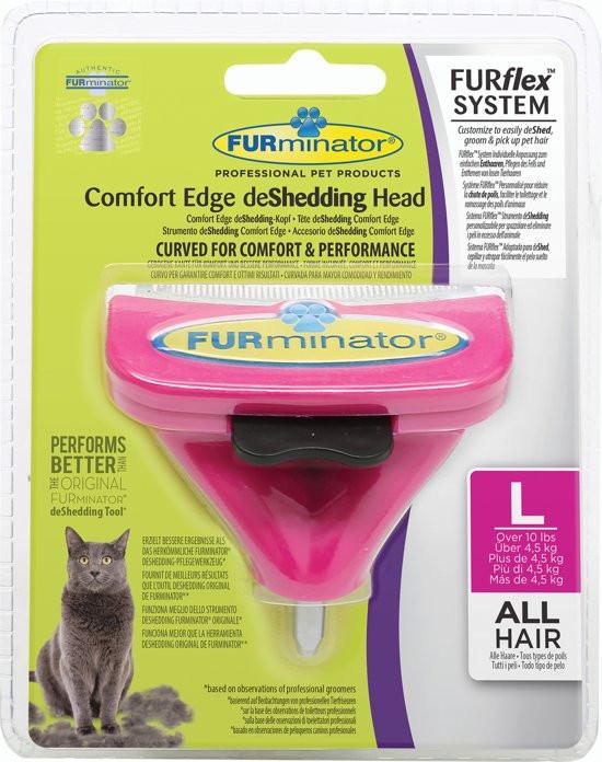 FURminator FURflex deShedding head cat Large