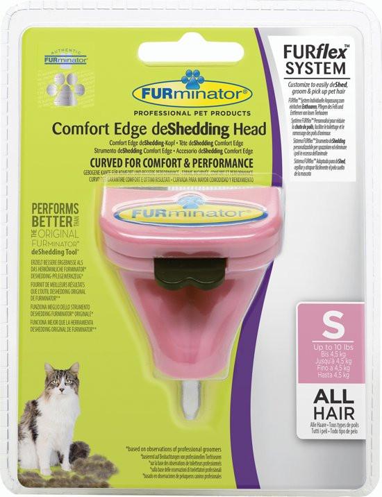 FURminator FURflex deShedding head cat Small