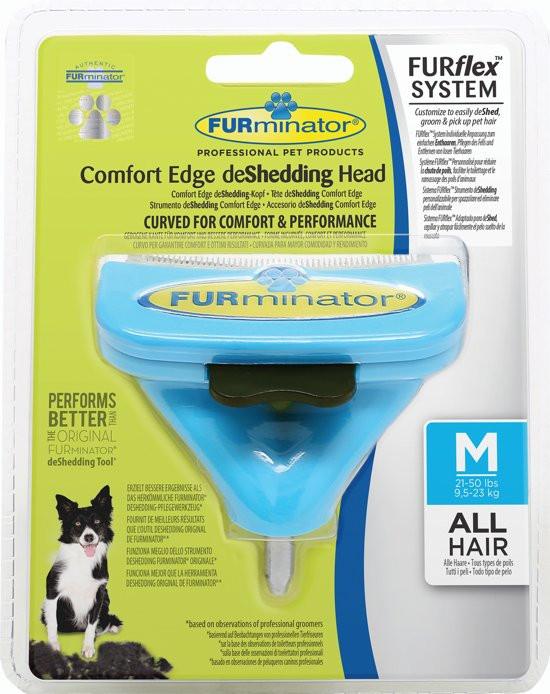 FURminator FURflex deShedding head dog Medium