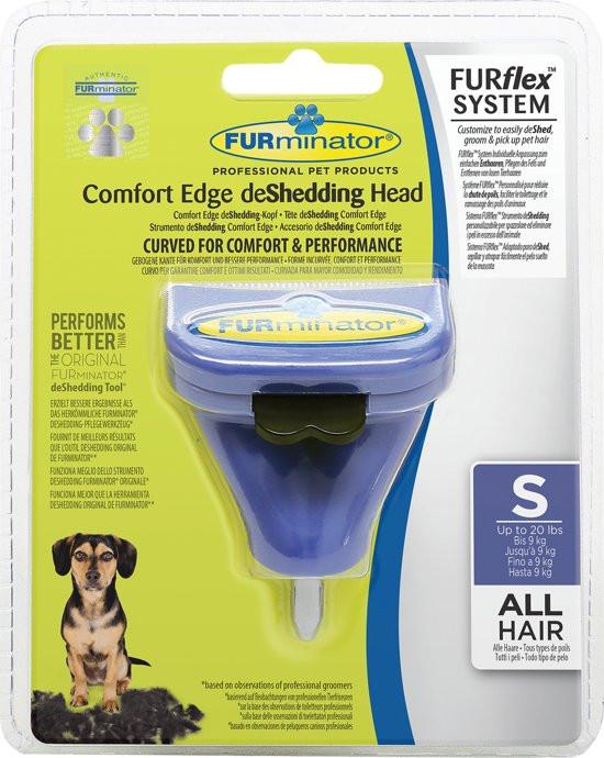 FURminator FURflex deShedding head dog Small