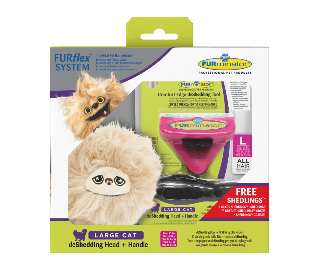FURminator FURflex shedling giftbox cat Large