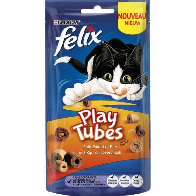 Felix PlayTubes chicken en liver 50 gr