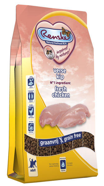 Renske kattenvoer Super Premium kip 6 kg