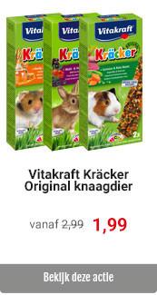 Vitakraft Kräckers voor 1,99