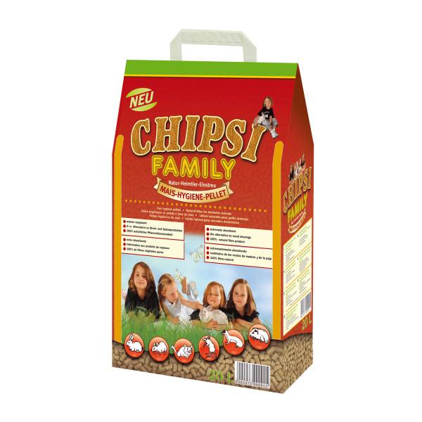 Chipsi Family bodembedekker 20 ltr