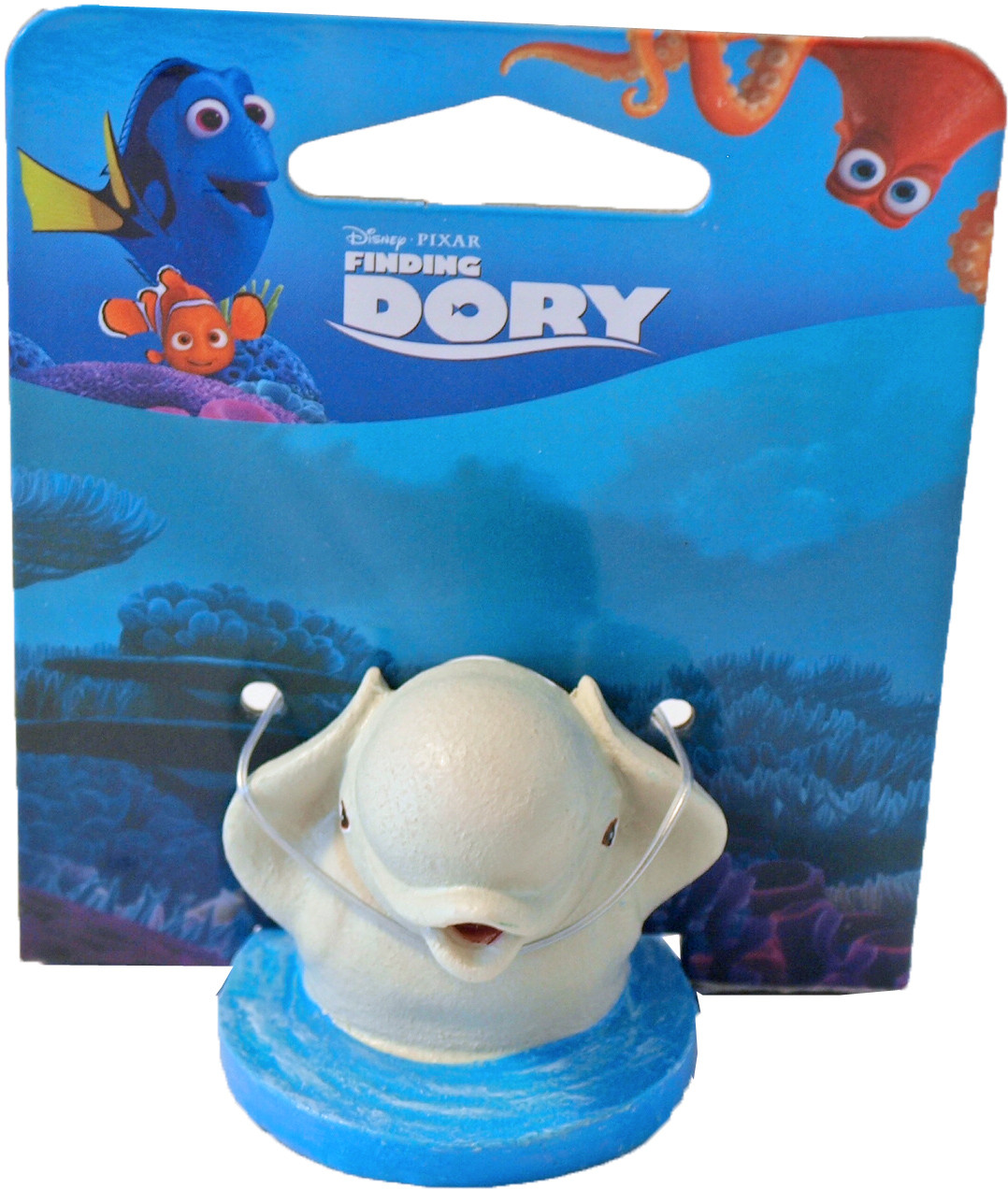 Penn Plax Dory ornament mini Baily in water