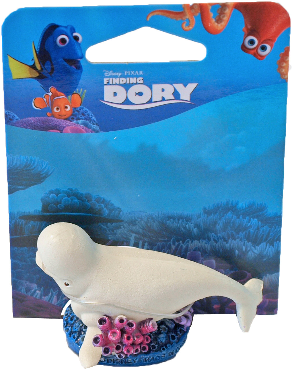 Penn Plax Dory ornament mini Baily with coral