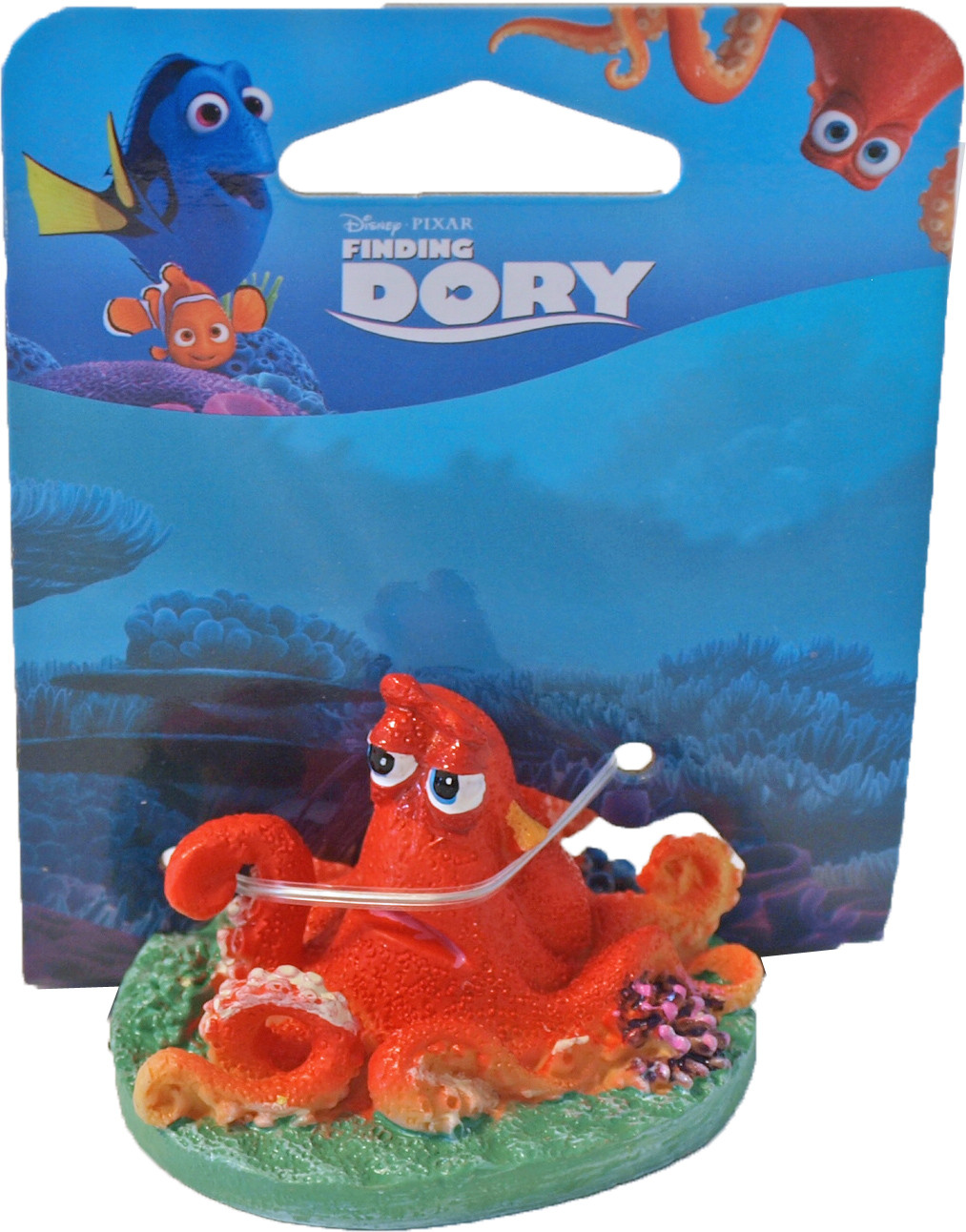 Penn Plax Dory ornament mini Hank with coral