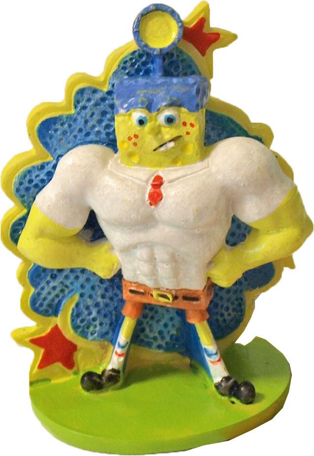 Penn Plax Spongebob ornament Spongebob super