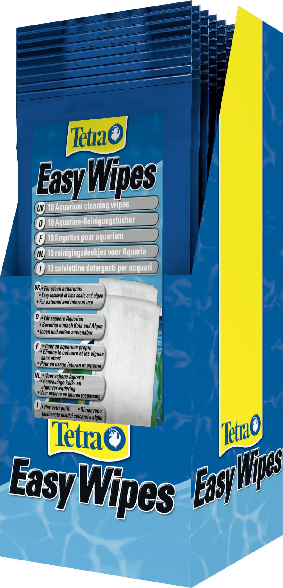 Tetra Easy Wipes 10 st