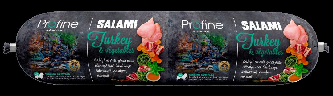 Profine SALAMI kalkoen met groenten 800 gr