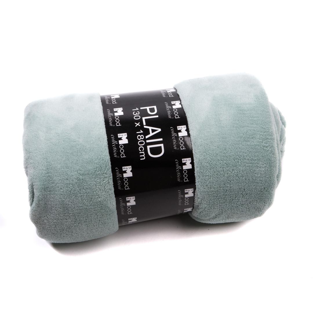 Lex & Max fleece plaid