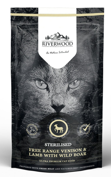 Riverwood kattenvoer Sterilised Venison & Lamb 300 gr