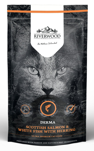 Riverwood kattenvoer Derma Scottish Salmon & White Fish 300 gr
