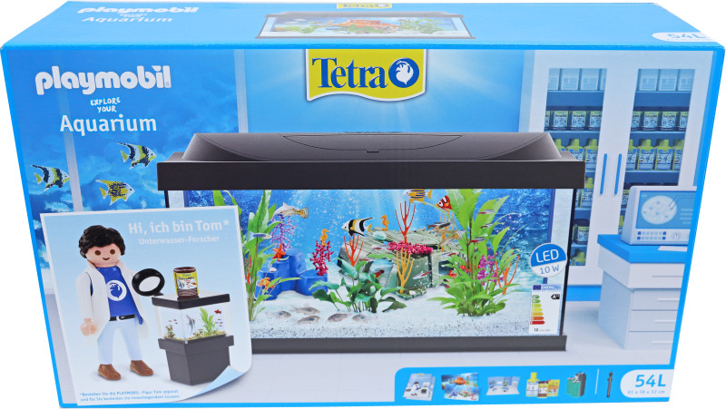 Tetra aquarium Starter Line Playmobil LED <br>54 ltr