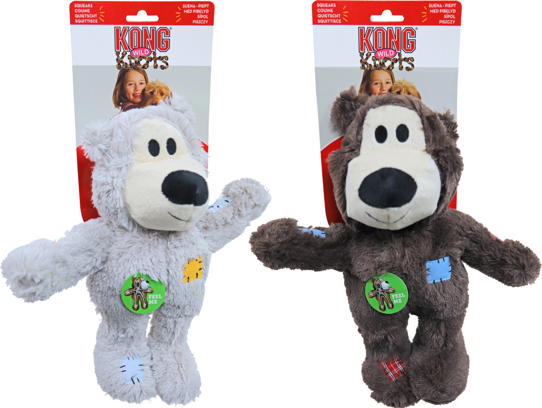 Kong Wild Knots bears assorti