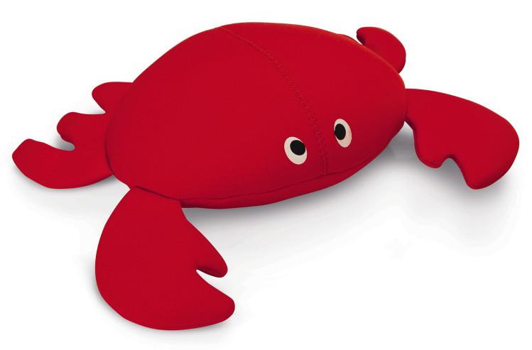 Beeztees hondenspeeltje Crabsy rood