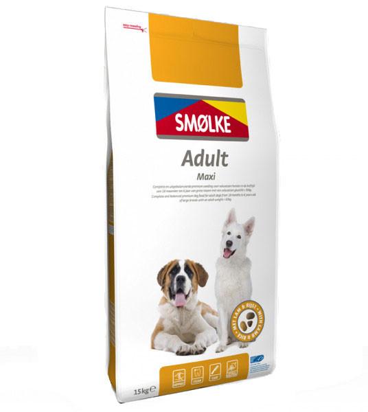 Smølke hondenvoer Adult Maxi 15 kg