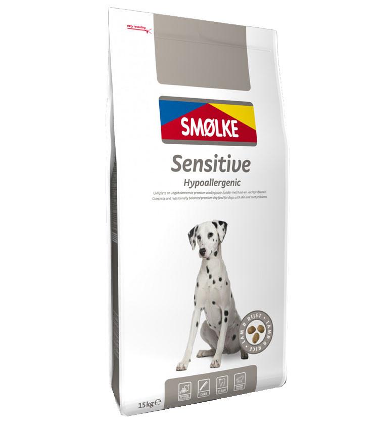Smølke hondenvoer Sensitive 15 kg