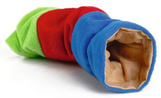Beeztees speeltunnel voor knaagdieren 25 cm