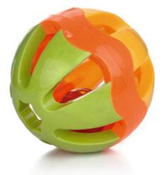 Beeztees plastic Wiggle bal 13 cm