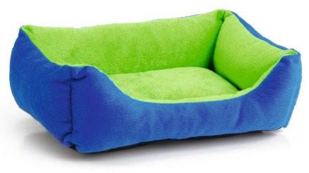 Beeztees ligbed voor knaagdieren groen/blauw