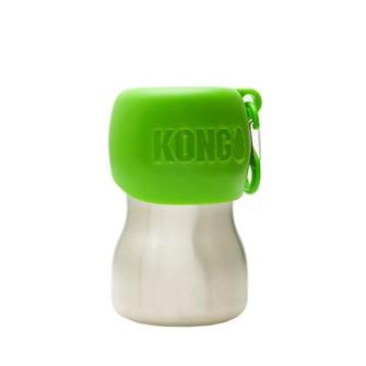 Kong drinkfles voor honden green