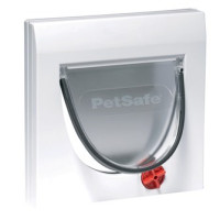 PetSafe Staywell kattenluik Classic Manual 4-Way wit thumb