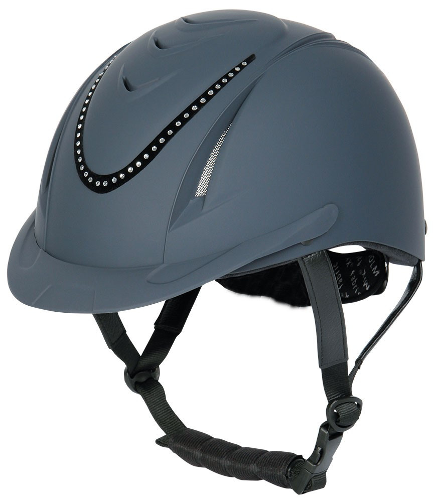 Harry's Horse rijhelm Chinook crystal navy