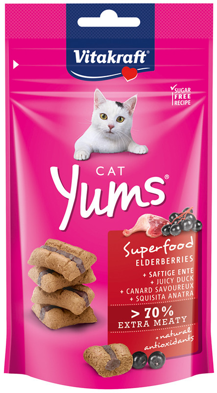 Vitakraft Cat Yums vlierbessen 40 gr