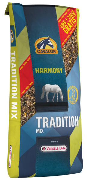 Cavalor Harmony Tradition Mix 20 + 2 kg