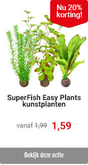 SuperFish Easy Plants 20% korting