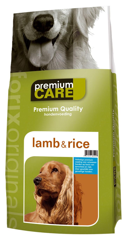 Premium Care Original Lamb & Rice 15 kg