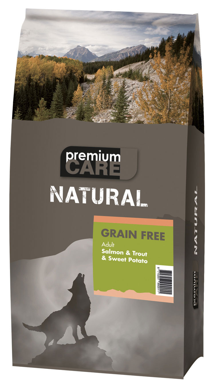 Premium Care NATURAL Salmon & Trout 12 kg