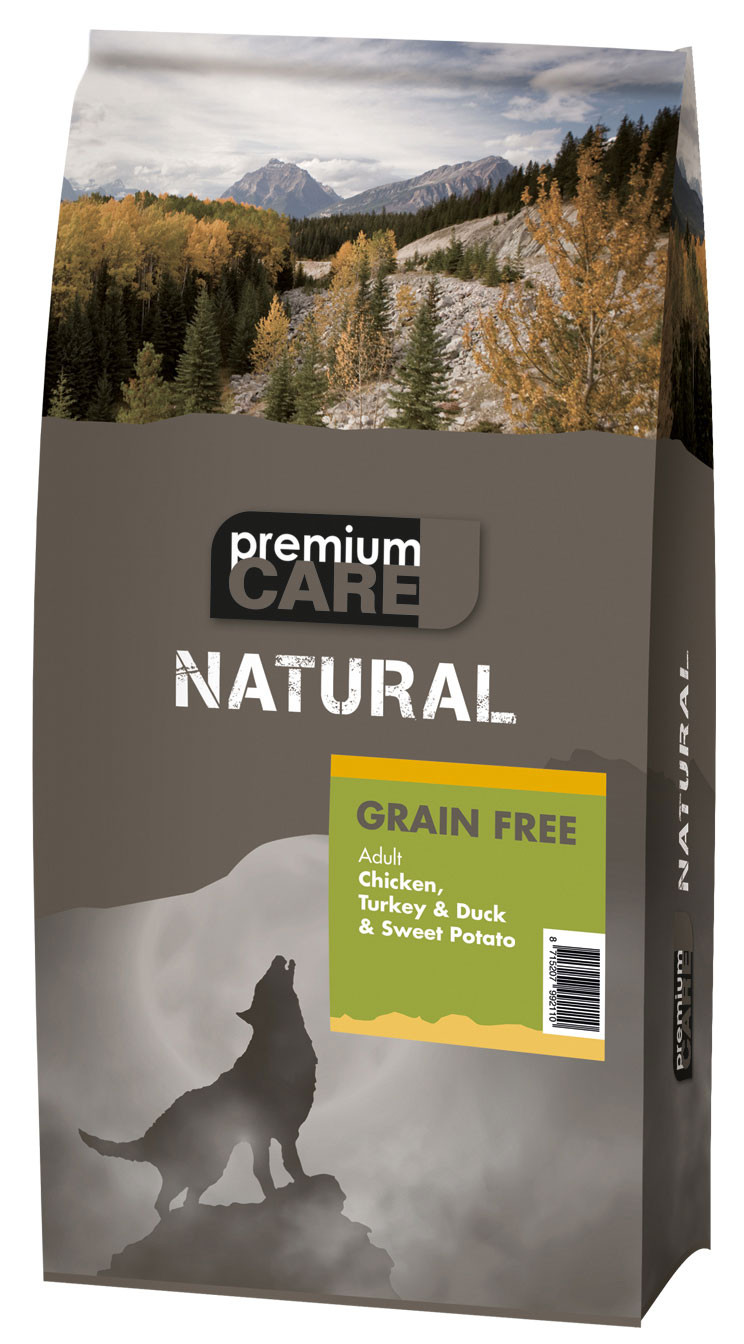 Premium Care NATURAL Chicken, Turkey & Duck 12 kg