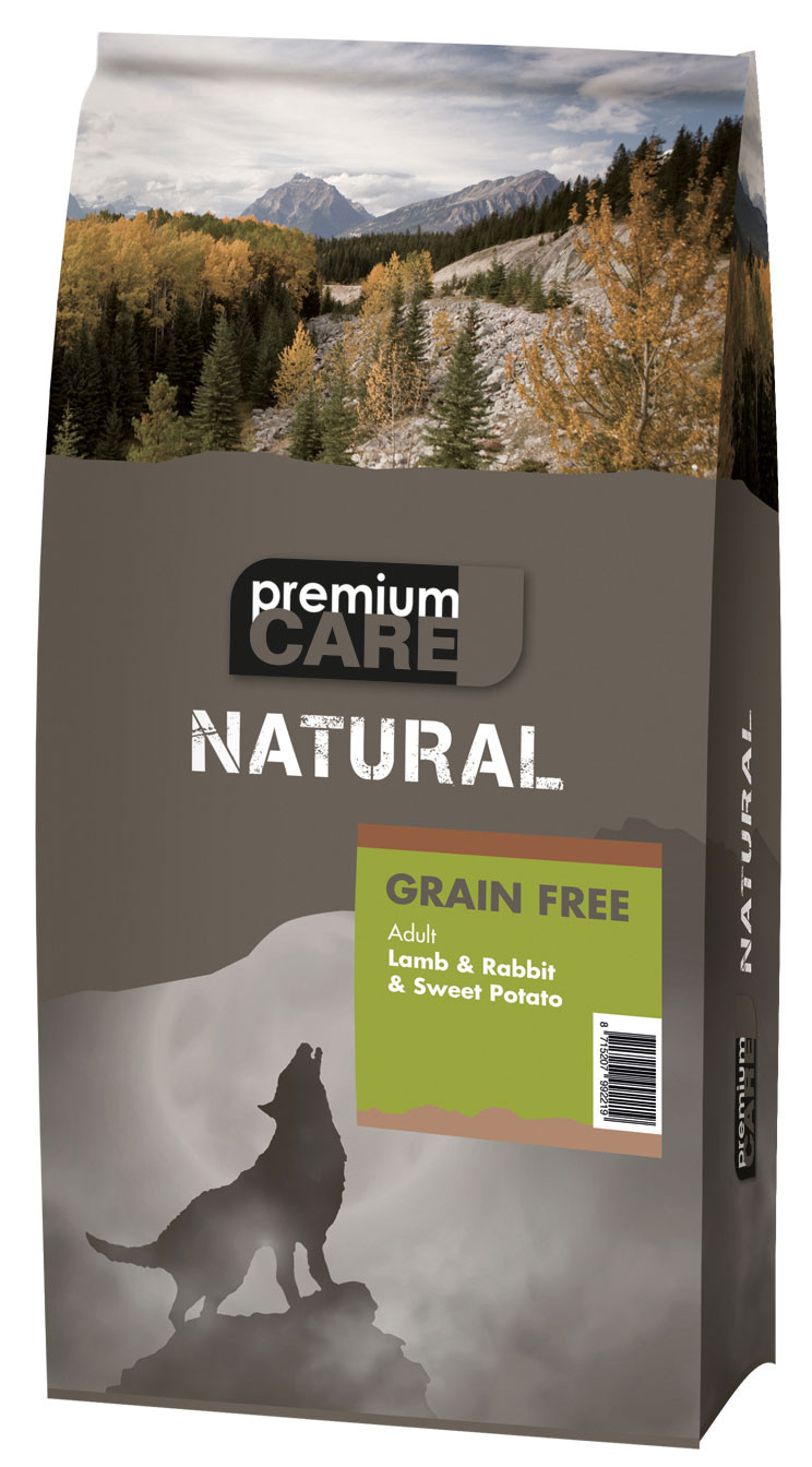 Premium Care NATURAL Lamb & Rabbit 3 kg