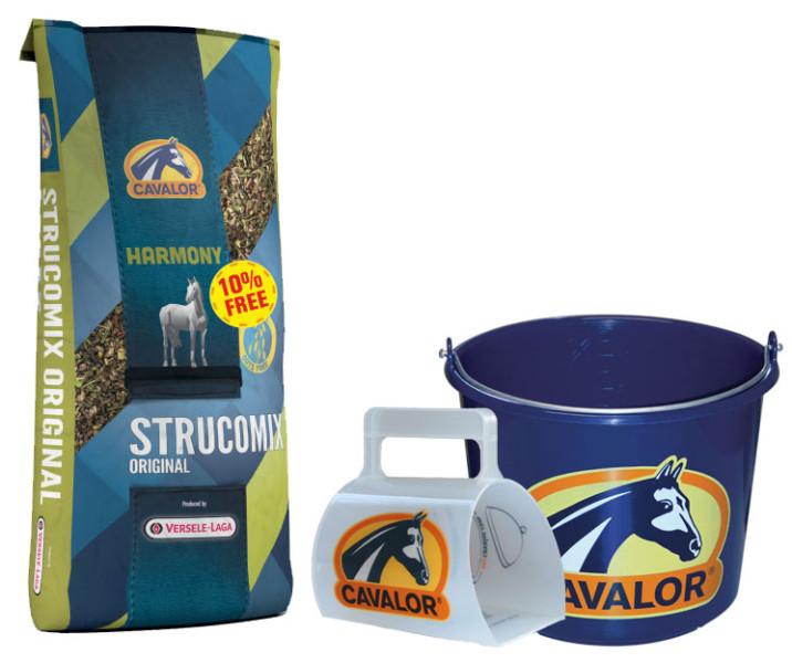 Cavalor Harmony Strucomix Original <br>15 + 1,5 kg