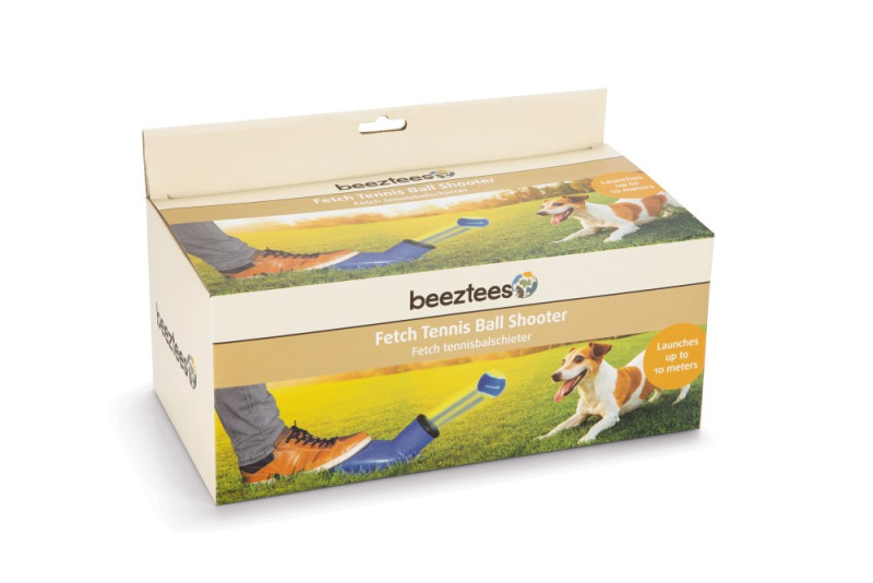 Beeztees Fetch ballenschieter blauw