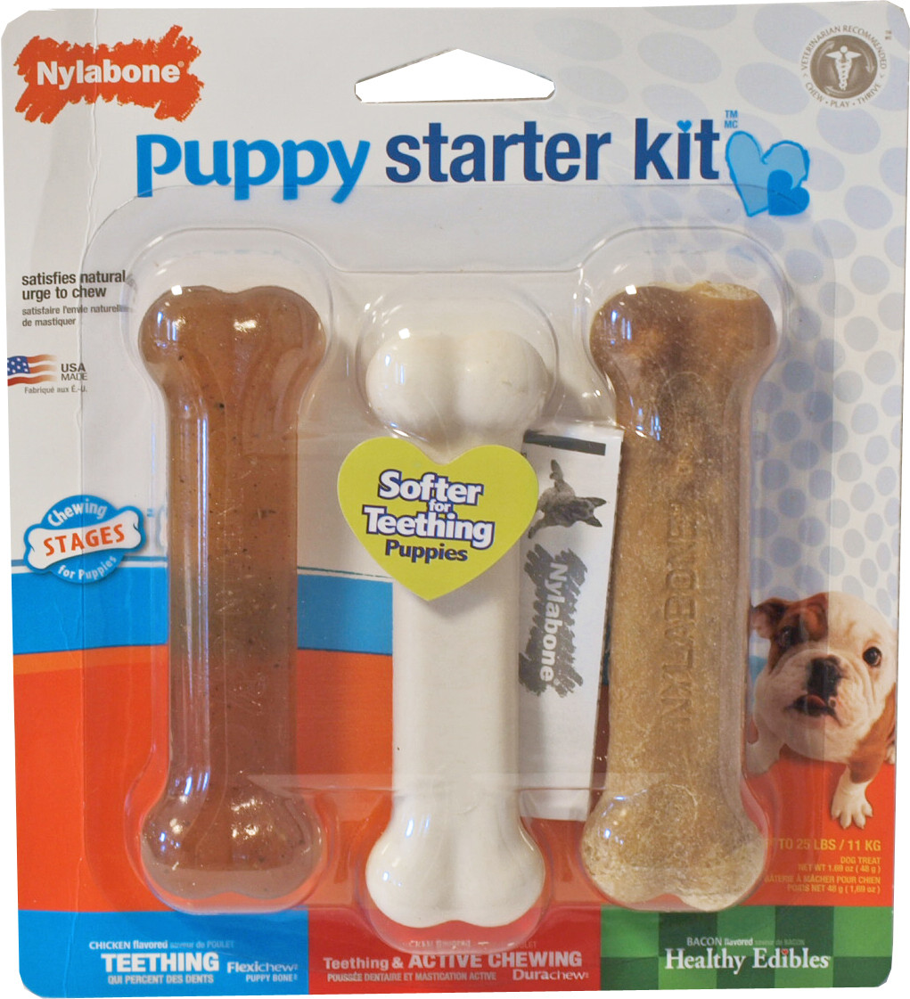 NylaBone Puppy Chew Starter Kit