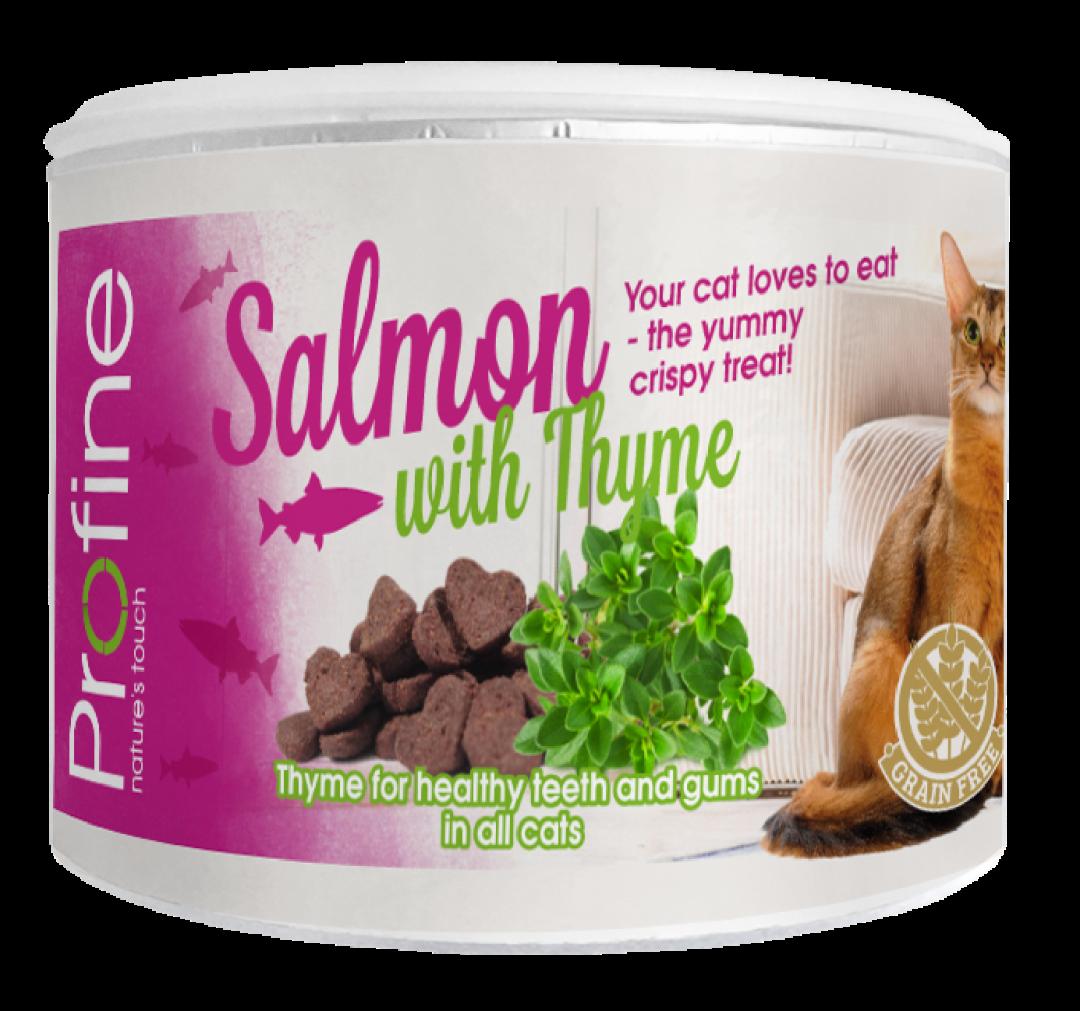 Profine kattensnack Crunchy salmon en thyme 50 gr