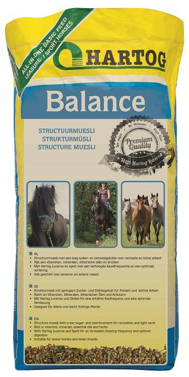 Hartog Balance vezelrijke muesli 20 kg