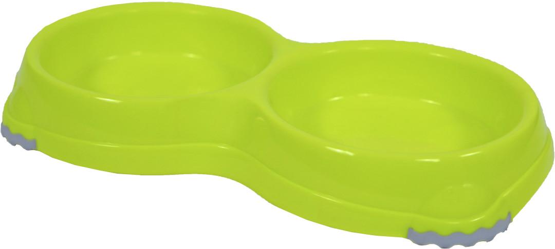 Moderna voerbak dubbel Smarty 1 melon yellow 2 x 200 ml