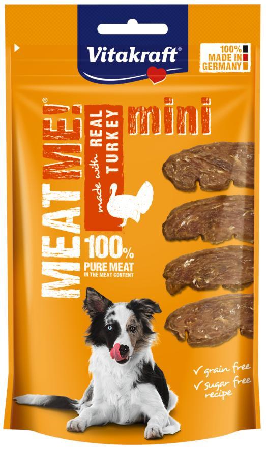 Vitakraft Meat Me! kalkoen mini 60 gr