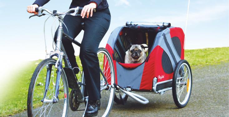 Test een hondenfietskar op 25 mei!