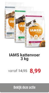 IAMS 3 kg voor 8,99