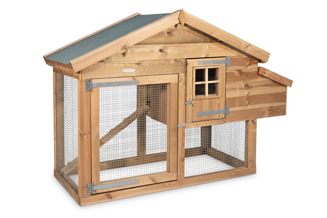 Voldux kippen- of konijnenhok Nova Rechts