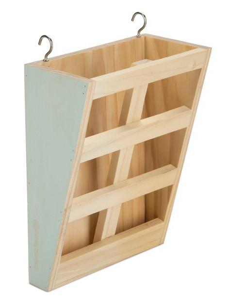 Beeztees houten hooiruif Rima mint