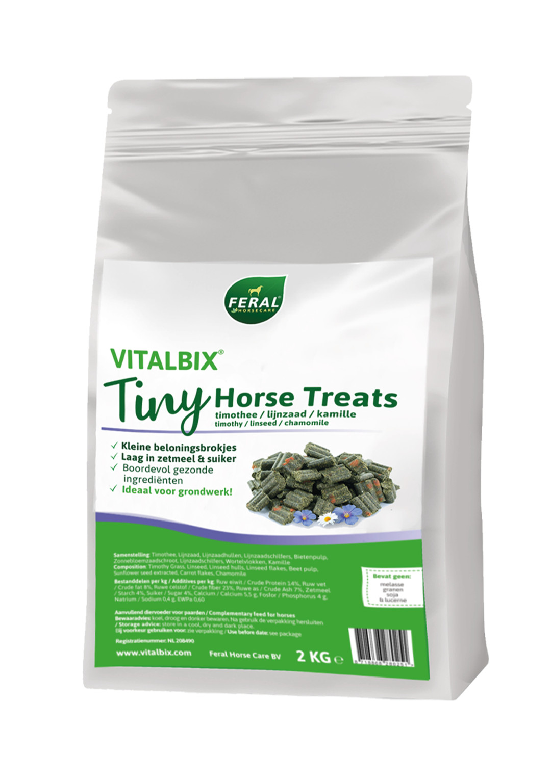 Vitalbix Tiny Horse Treats 2 kg