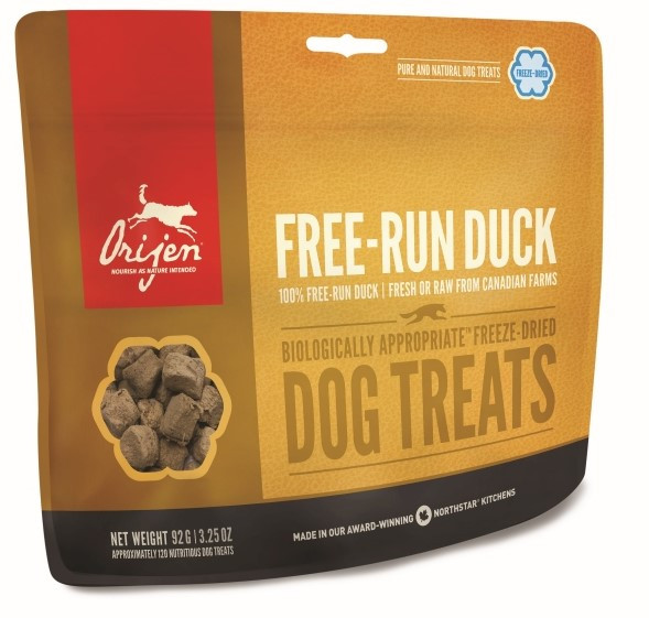 Orijen Freeze-Dried Dog Treats Free-Run Duck 92 gr