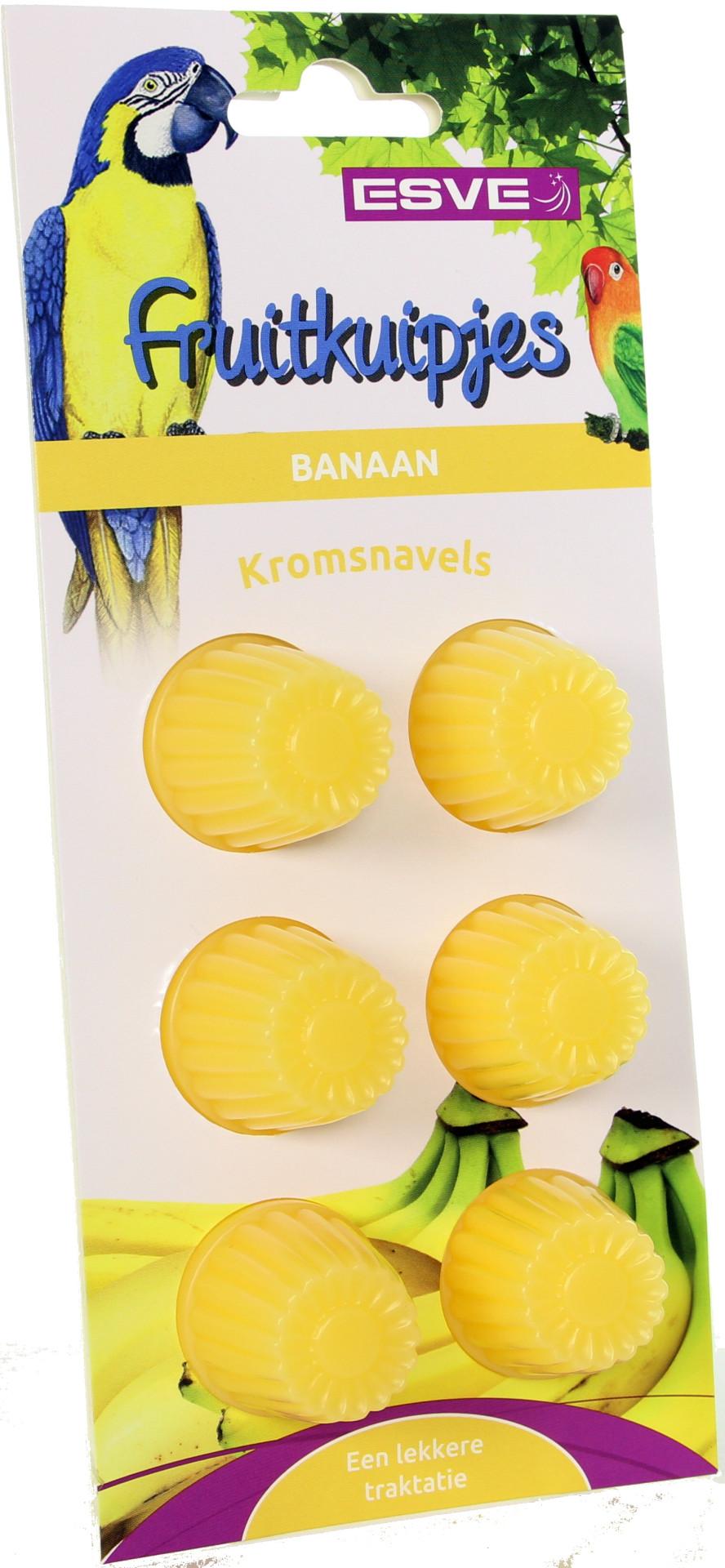 ESVE fruitkuipjes Banaan